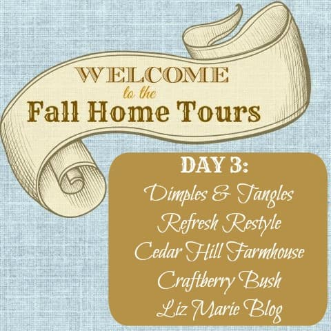 Welcome Fall Home Tour Graphic Day 3