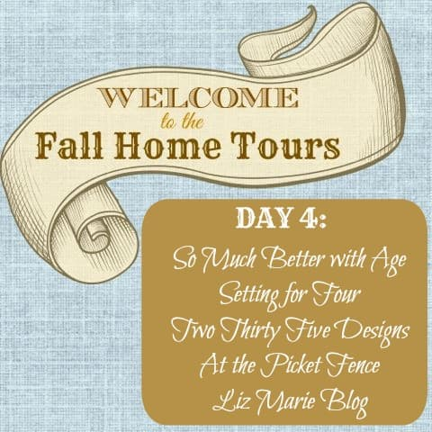Welcome Fall Home Tour Graphic Day 4