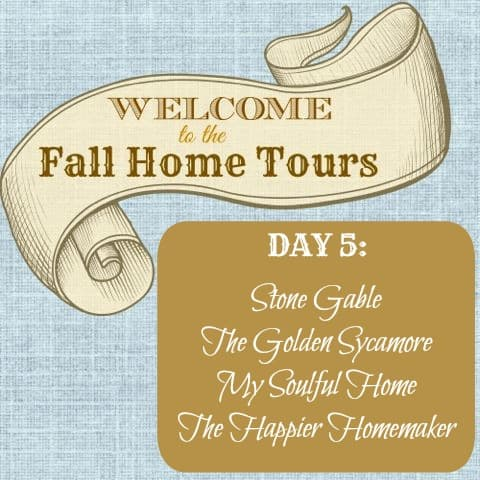 Welcome Fall Home Tour Graphic Day 5