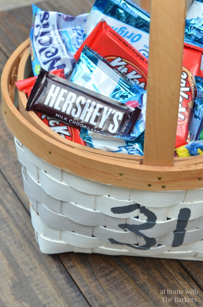 Halloween Candy Basket with Painted 31