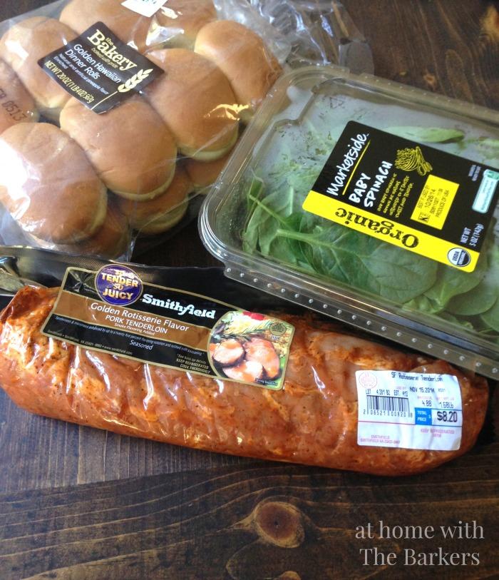 Recipe for pork tenderloin sliders