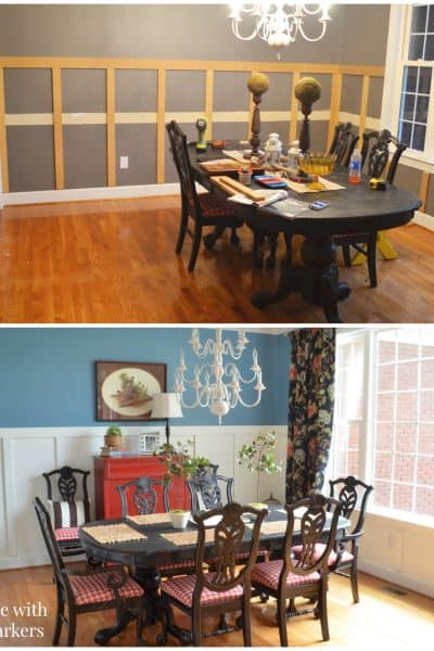 September recap-Dining Room Makeover