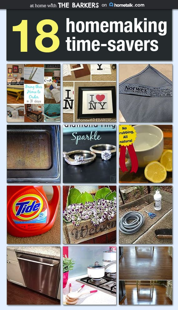 Time Saving Tips for Home ~ Hometalk Curated Board
