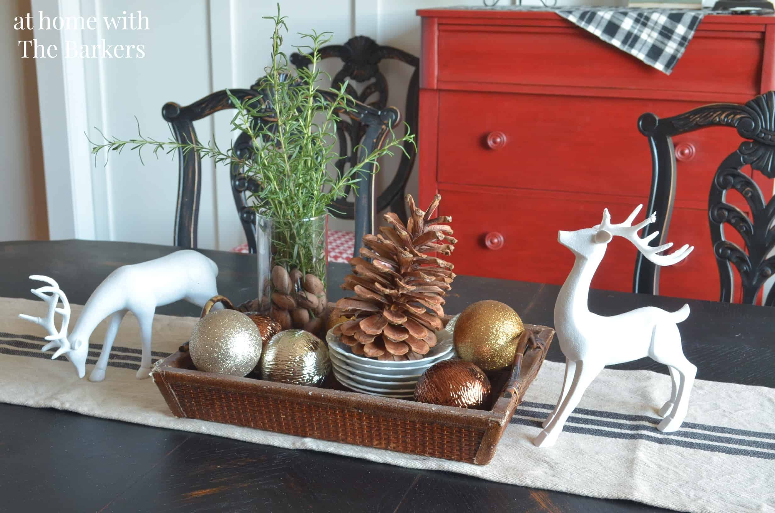 Dining Room Christmas Decor