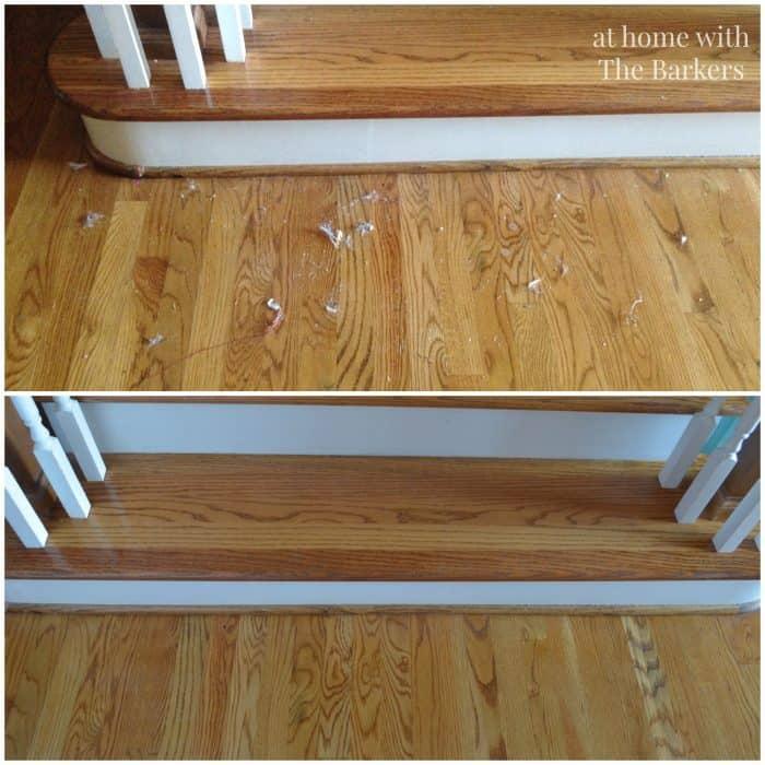 Hoover Air Cordless Vacuum-Cleaning Hardwood Floor