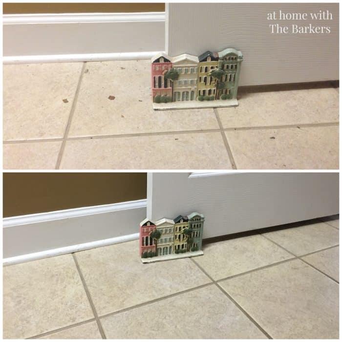 Hoover Air Cordless Vacuum- Tile Floor Cleaning