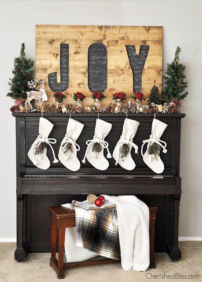 Christmas Mantel Inspiration At Home With The Barkers