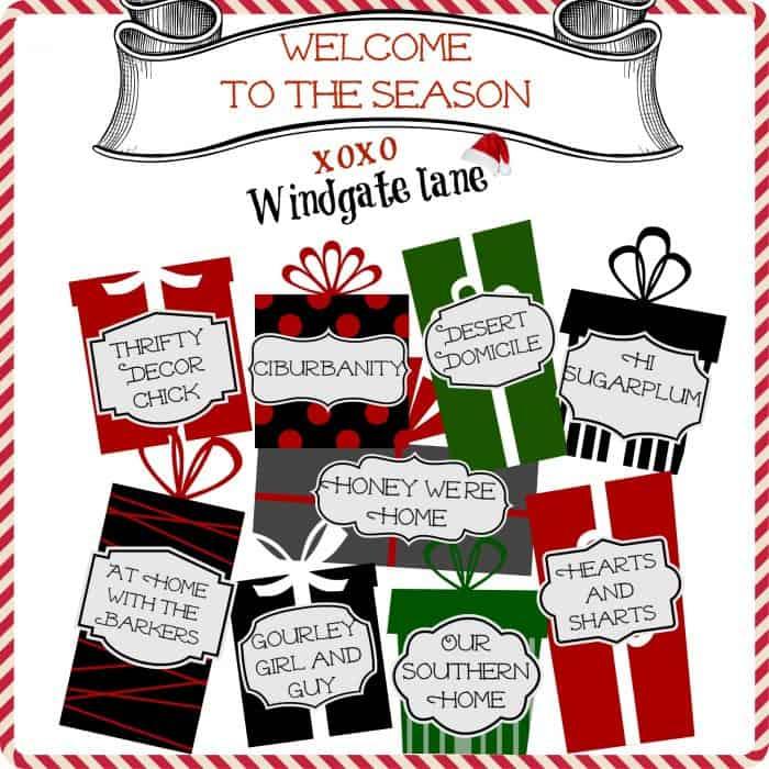 Welcome to Season Tour-Front Porch Christmas Decor