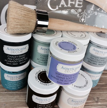 Chalky Finish Giveaway for At Home with The Barkers
