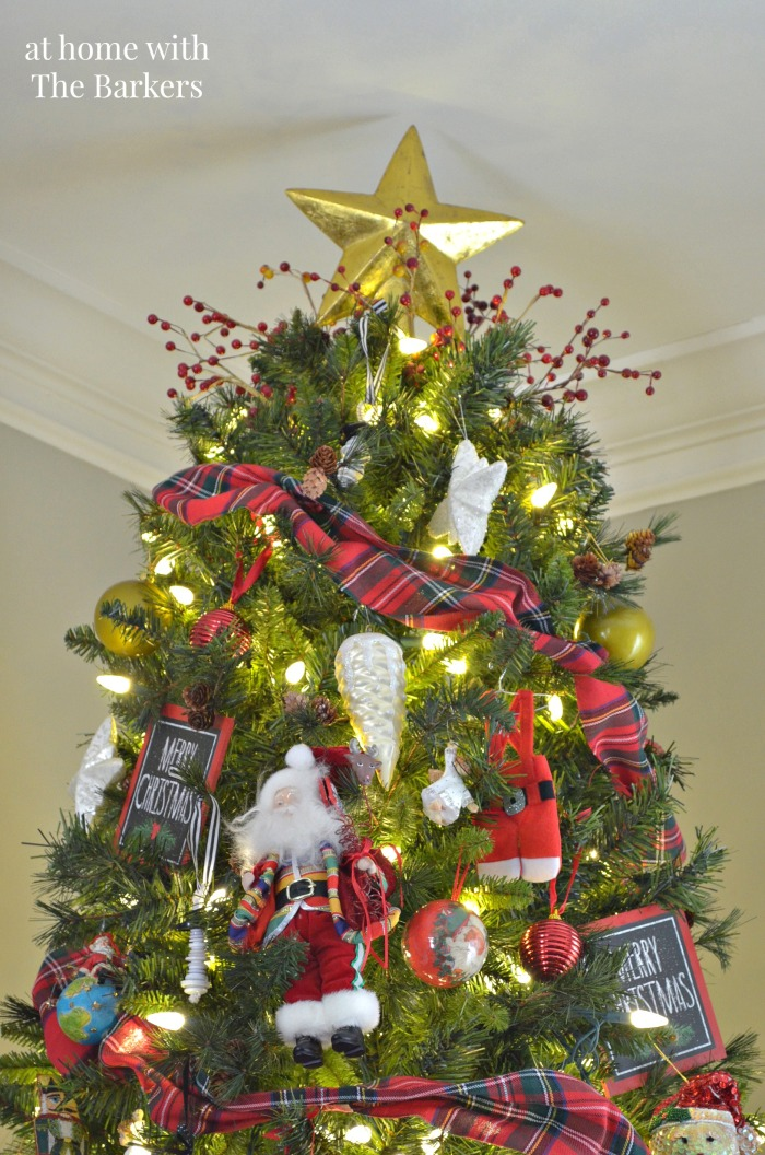 Christmas House Tour- Christmas Tree Star