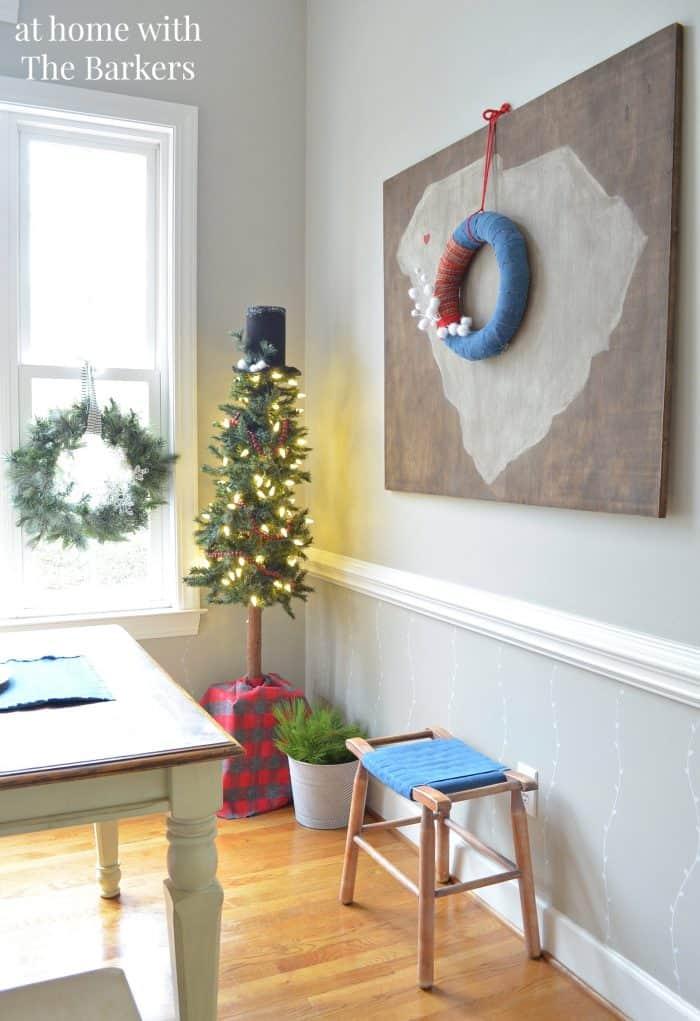Christmas House Tour Kitchen Tree