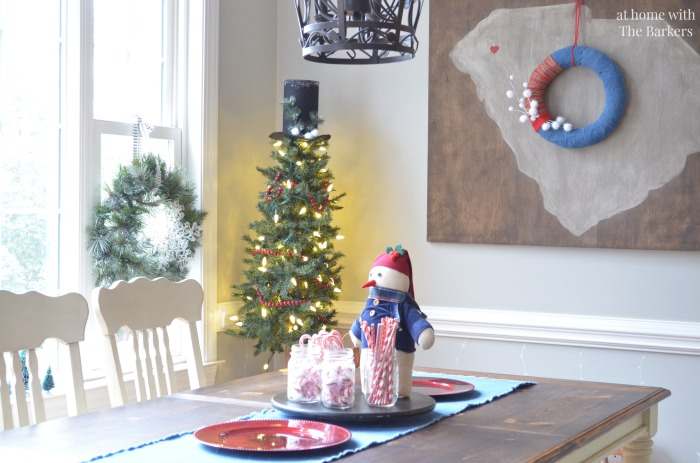 Christmas House Tour Kitchen decor