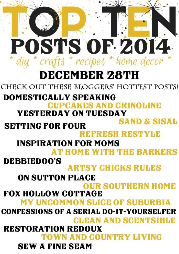 Top Ten Posts Bloggers