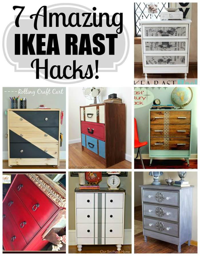 Ikea Rast Hacks