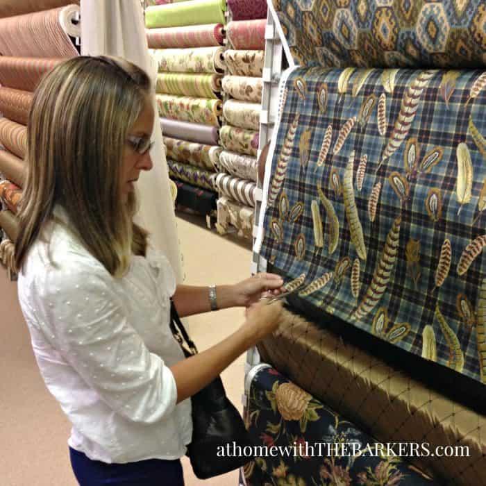 Choosing Fabrics for custom bedding