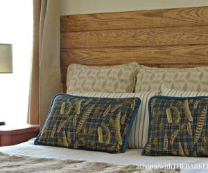 DIY Headboard for Master Bedroom Makeover