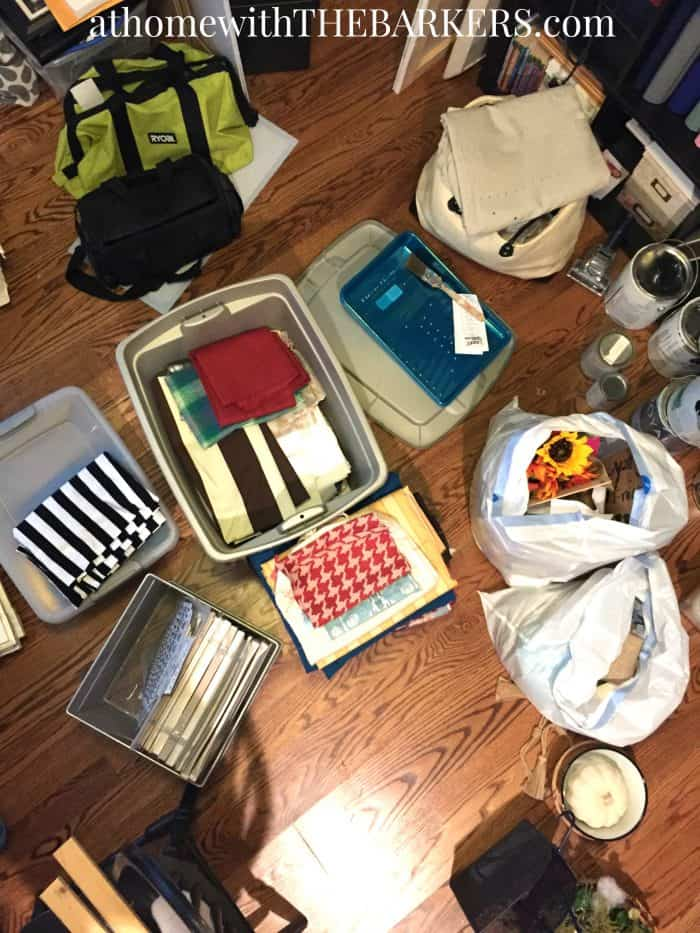 Declutter Tips for keeping organized later