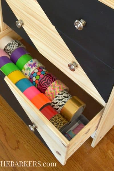 Ikea Rast Hack Rolling Craft Cart