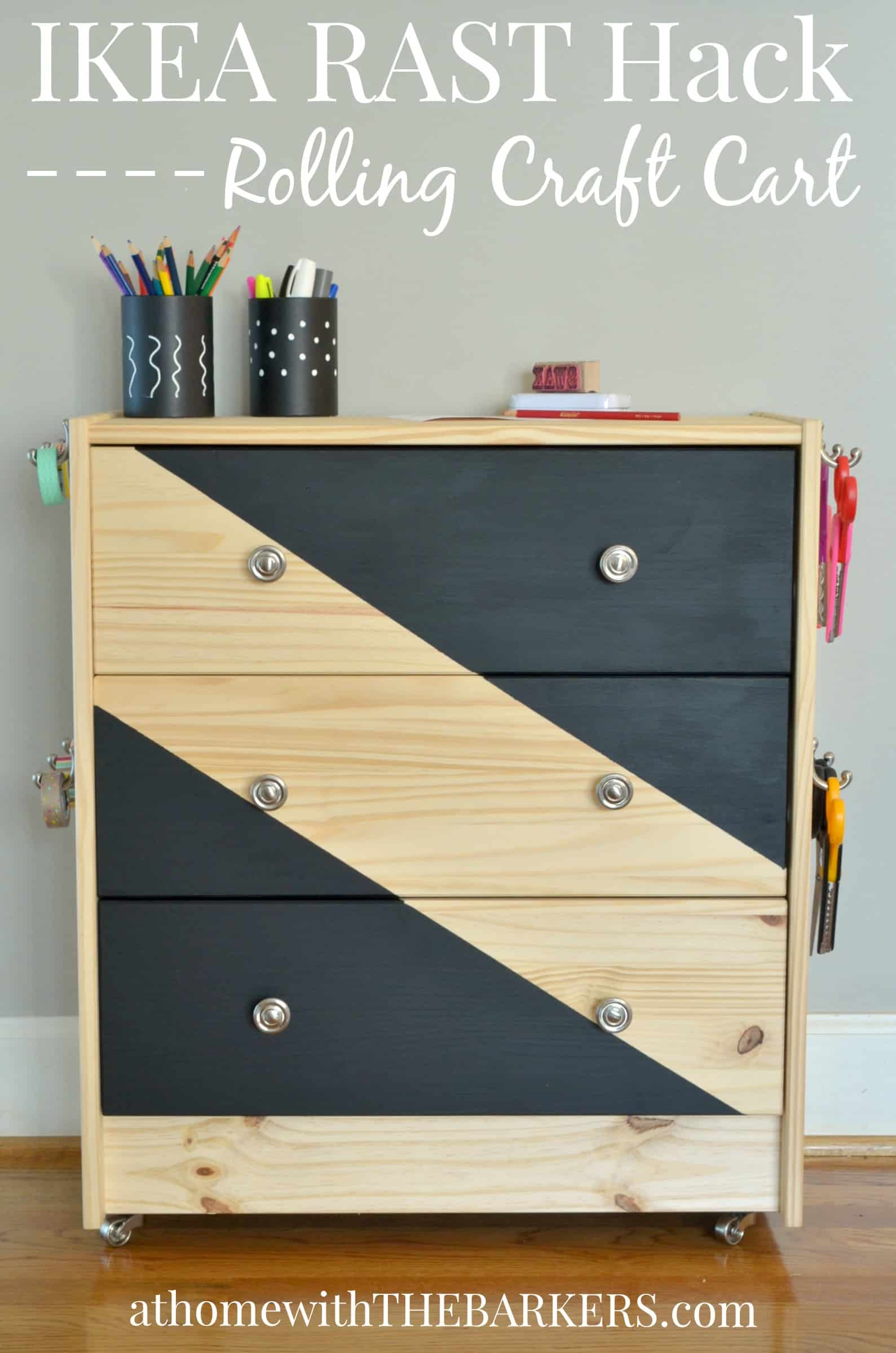 The best ikea rast dresser hacks classy clutter for Modificar muebles ikea