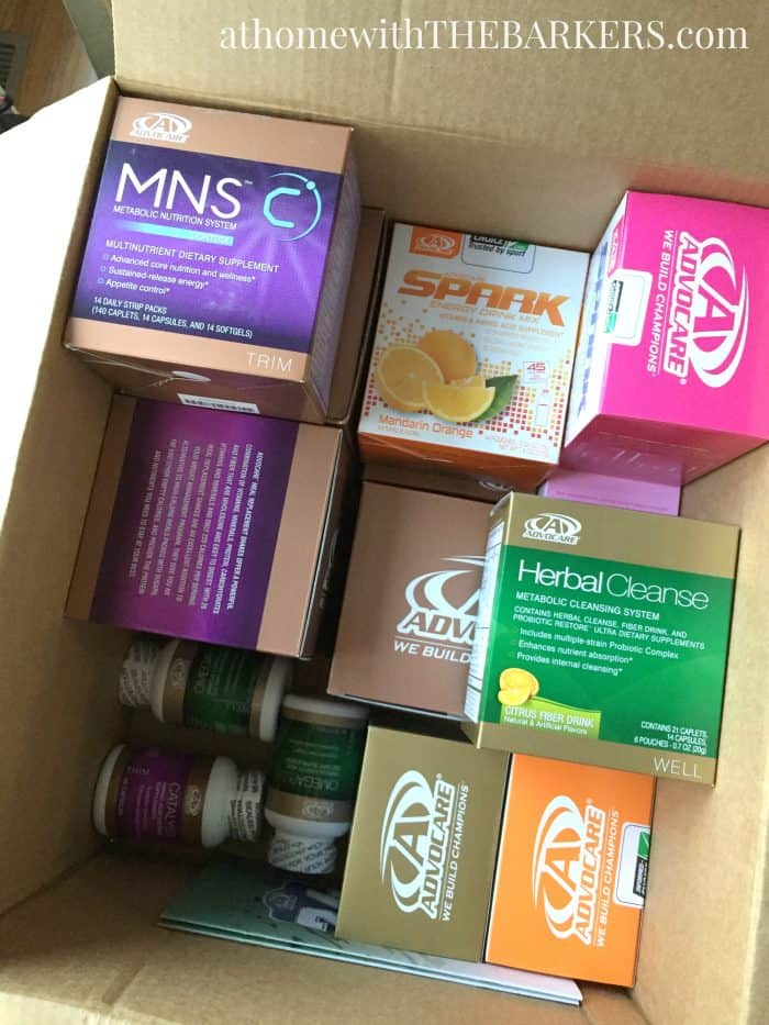 AdvoCare 24 day challenge Order