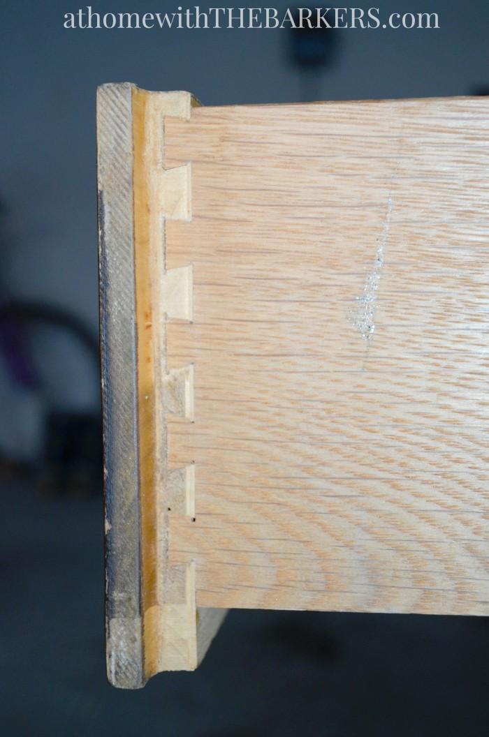 Thrift Store Profile Drexel Dresser Details