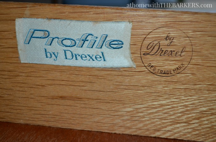 Thrift Store Profile Drexel Dresser Makeover