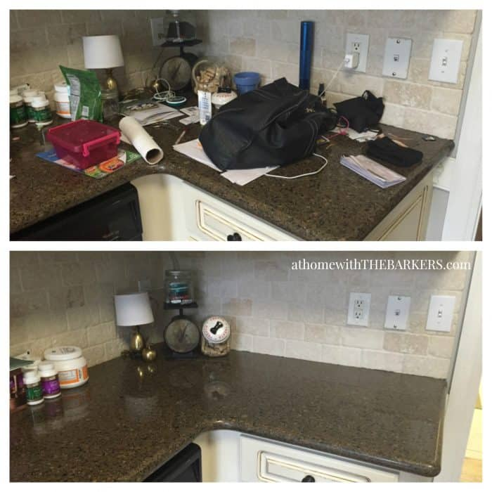 Clean Home Challenge-Kitchen Counter