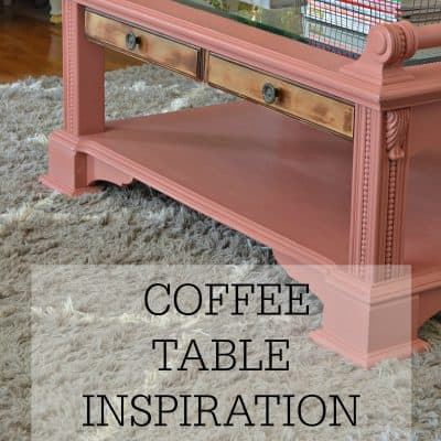 Coffee Table Inspiration Round Up Post