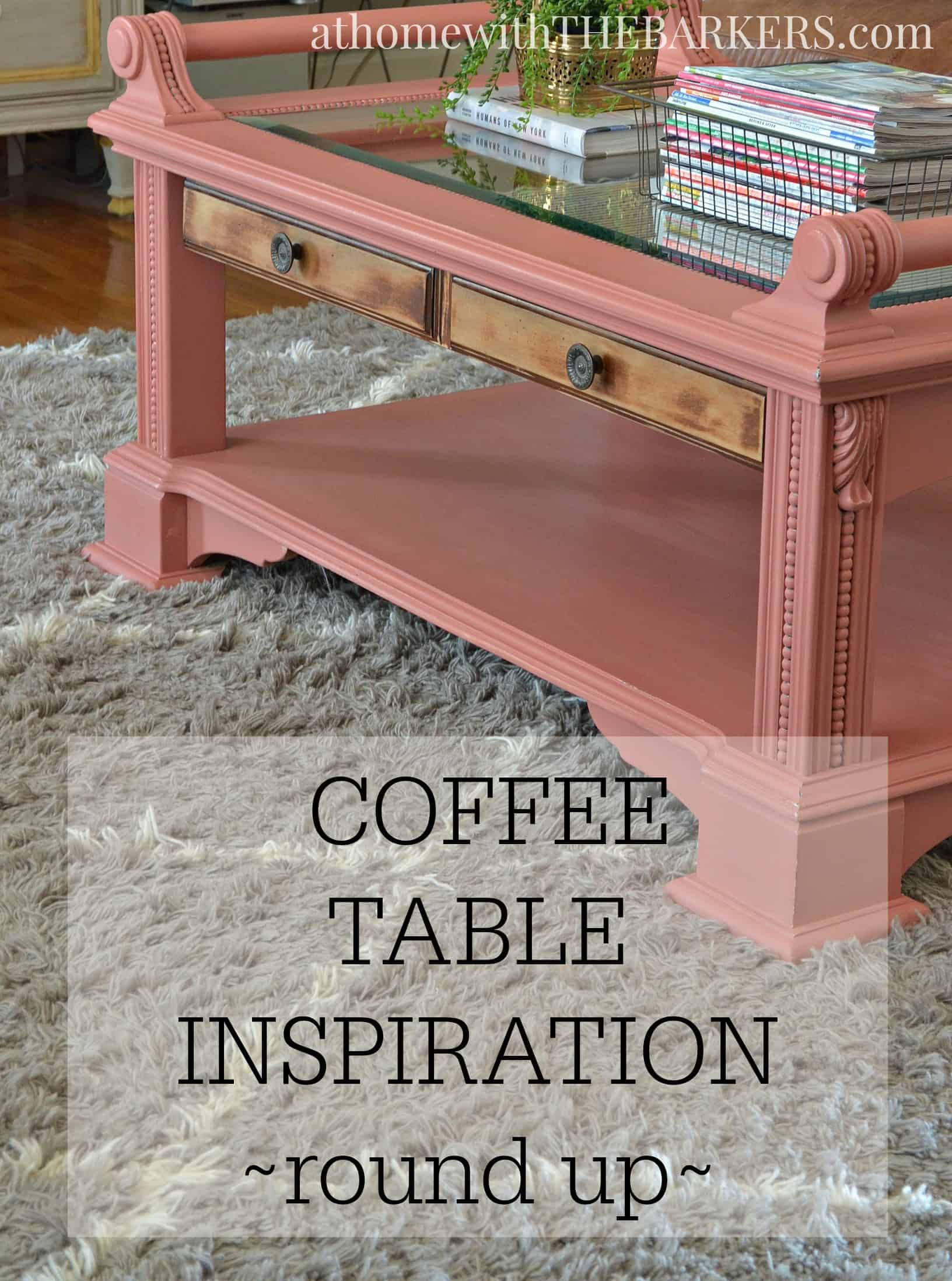 Coffee Table Inspiration- At Home with The Barkers on Coffee Table Inspiration  id=56066