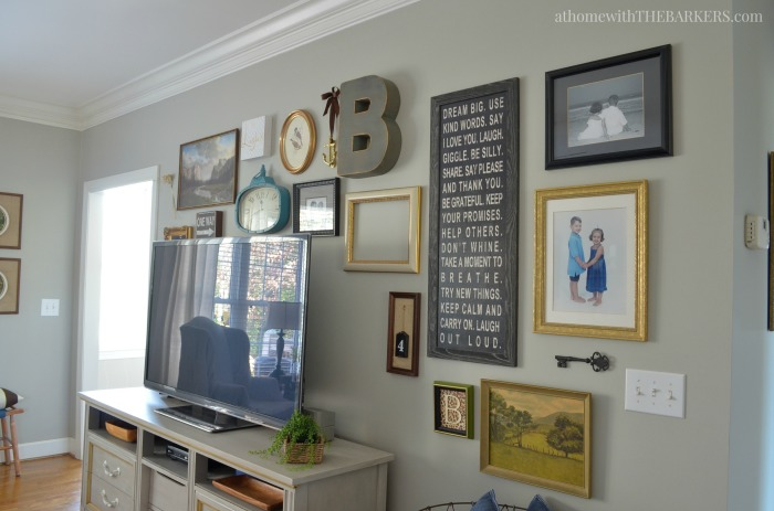 Gallery Wall Art and Spring Home Decor