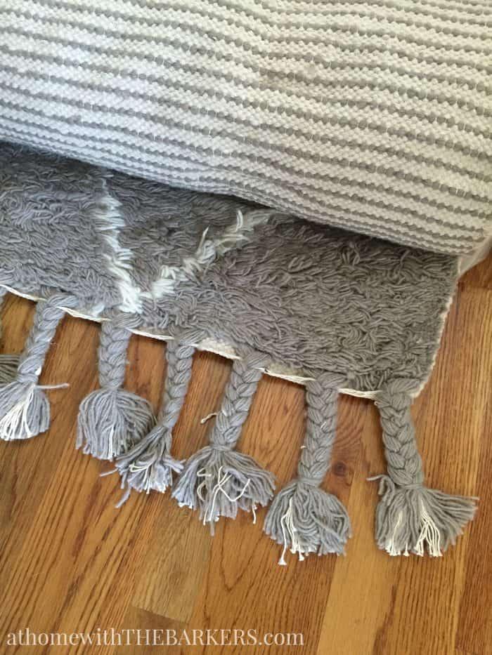 Moroccan Shag Grey Rugs USA