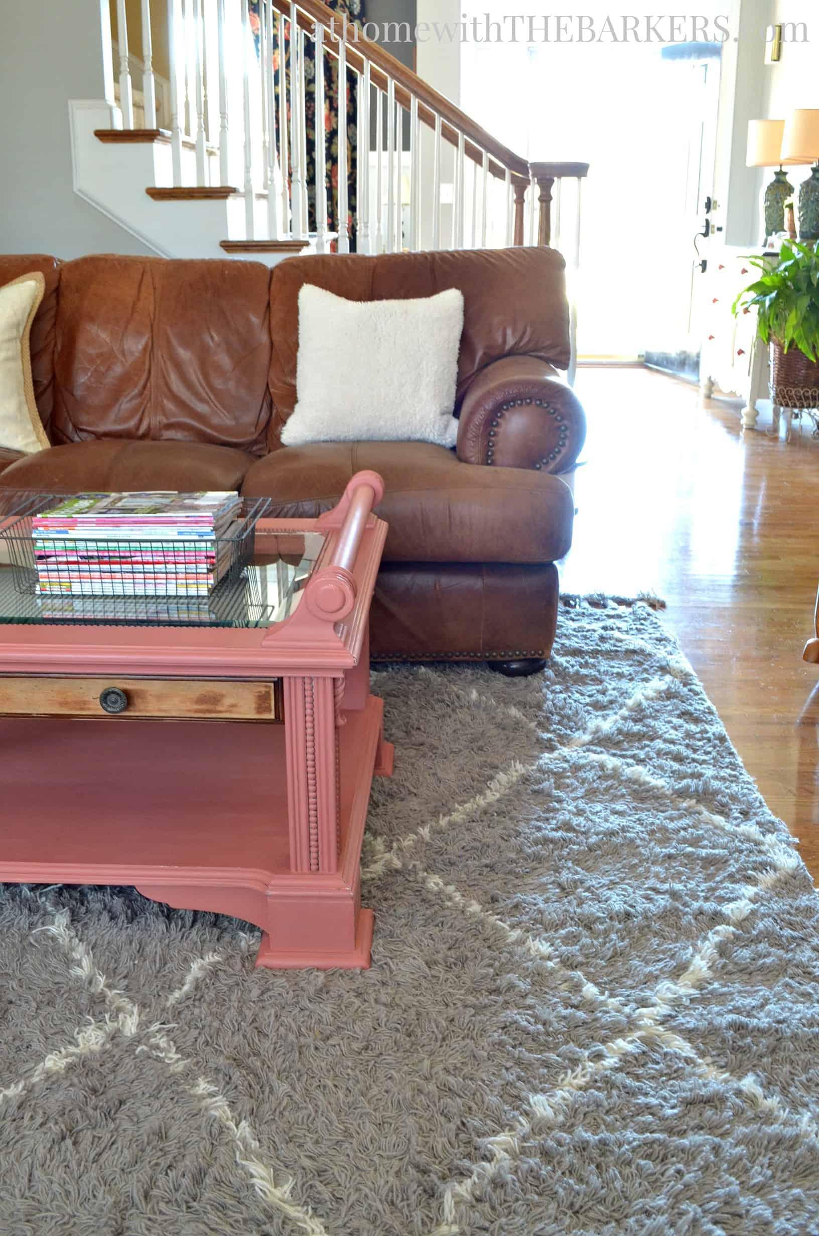 Living Room Rug Update