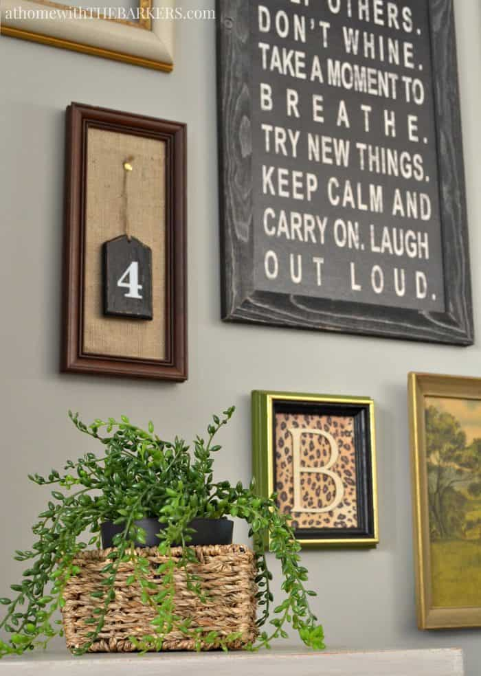Spring Home Decor and Greenery