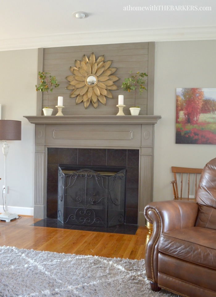 Spring Home Decor and a Simple Mantel