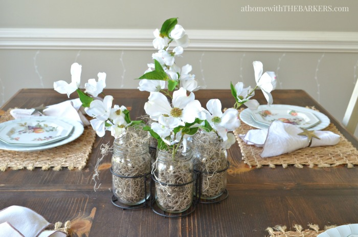 Spring Home Decor with Kirkland's  Mason Jar Rack