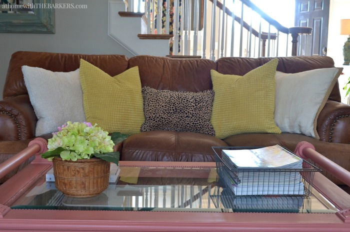 Spring Home Living Room Decor