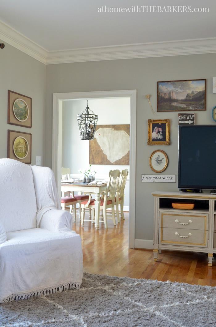 Spring Home Tour Kitchen view