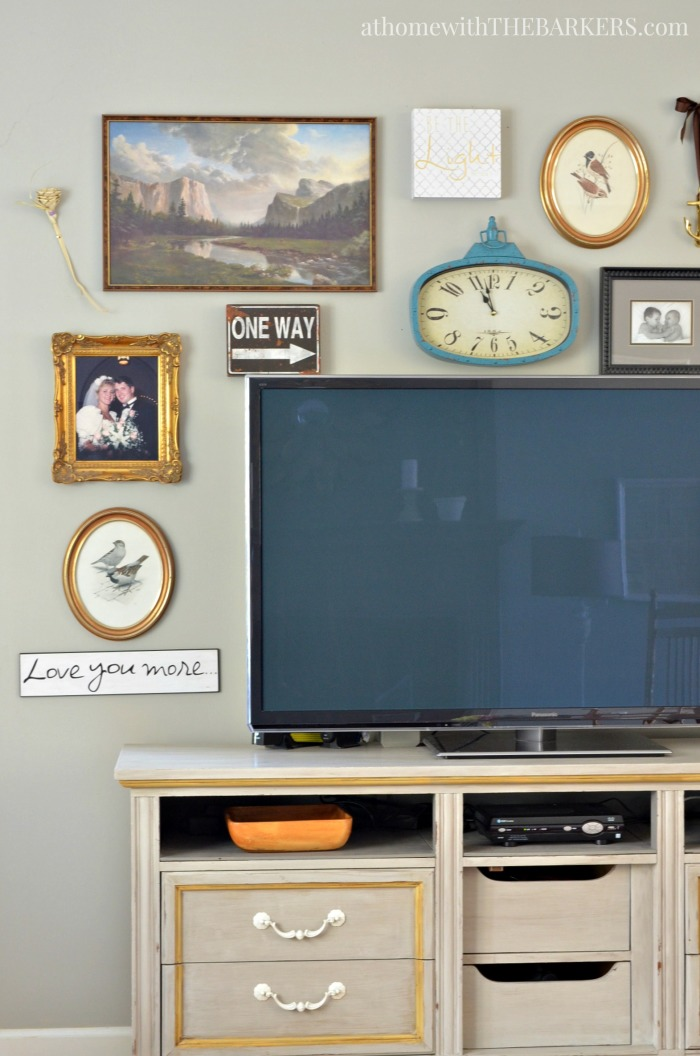 Spring Home Tour and Eclectic Gallery Wall