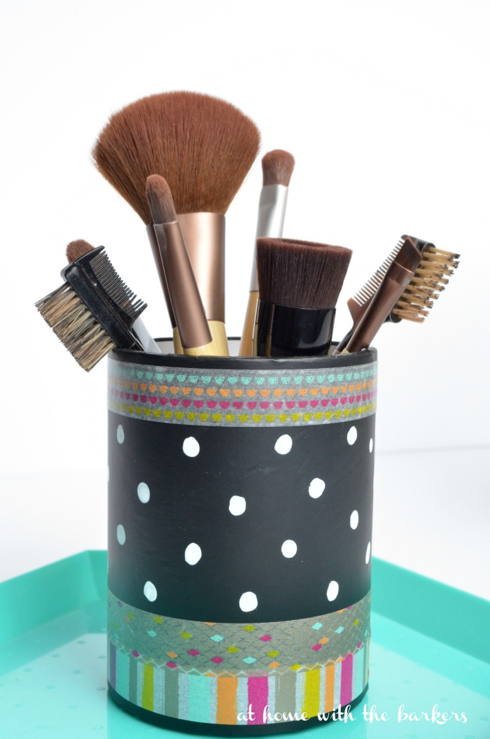 DIY Makeup Brush Holder for mom