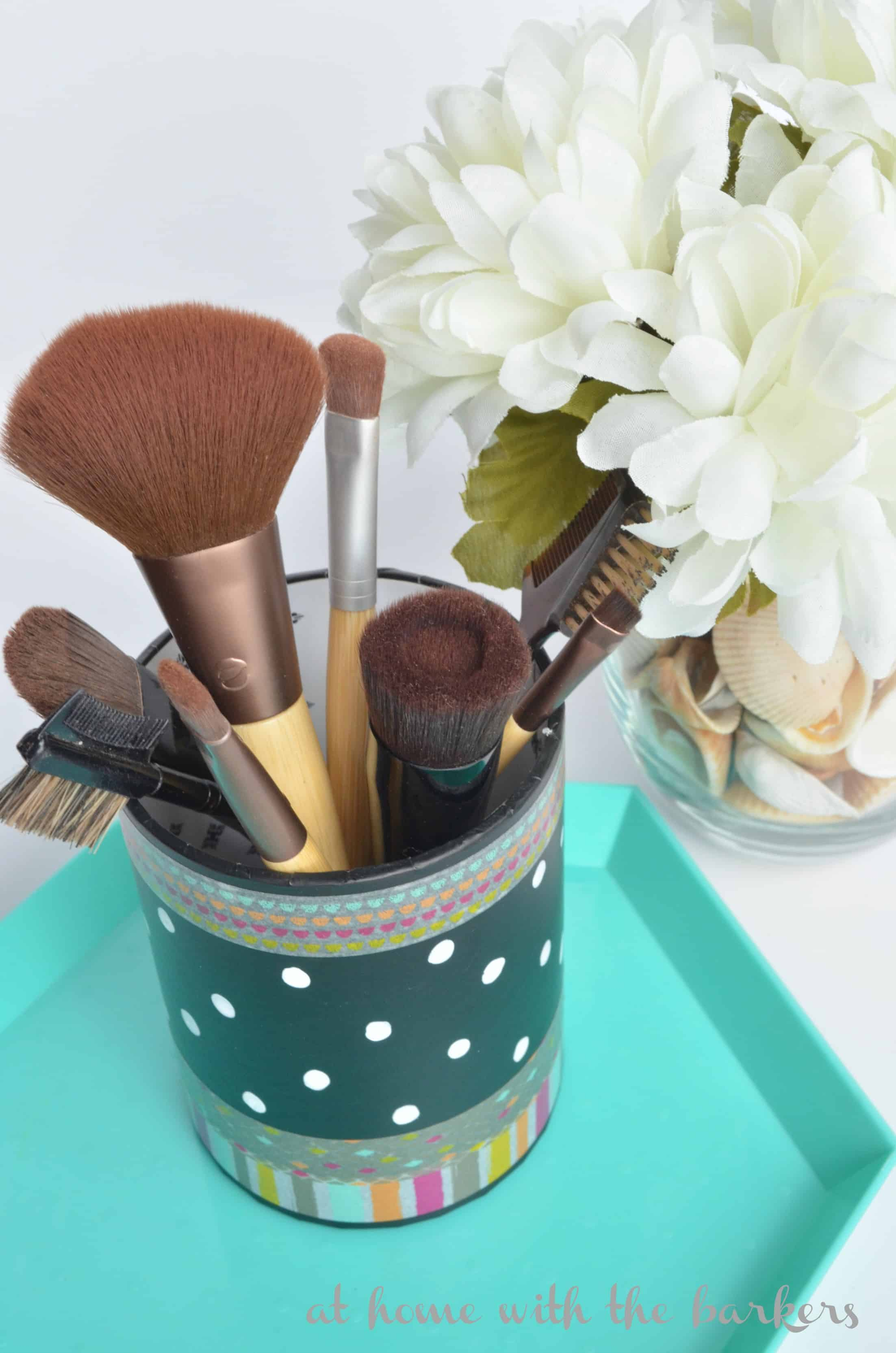 Makeup Brush Holder At Home With The Barkers