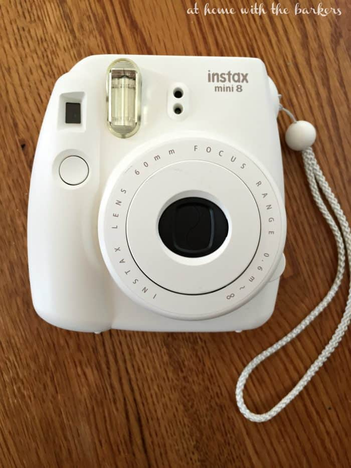 DIY SC Photo Art with Instax mini 8