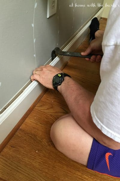 Kitchen Makeover -ORC Removing Trim