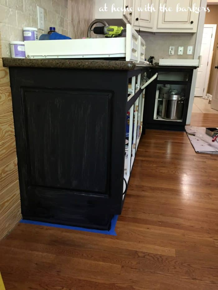 ORC Week 4 Black Painted Cabinets