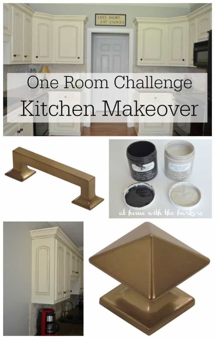 One Room Challenge Kitchen Makeover Mood Board