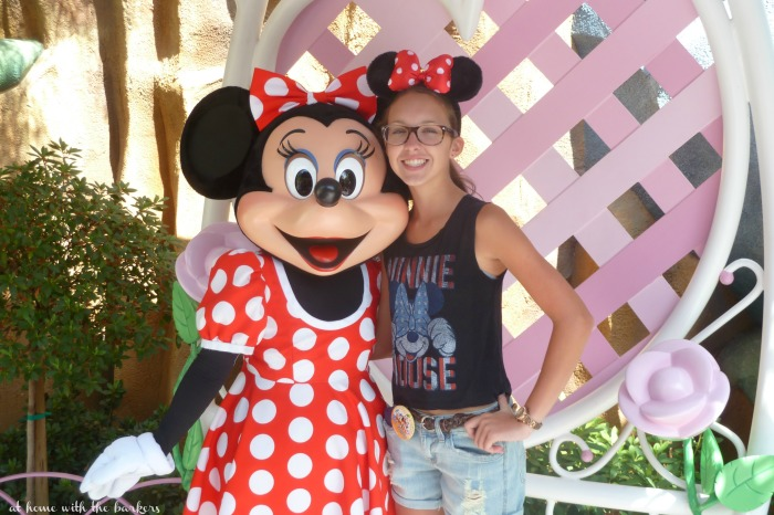 Disneyland 2014 and SB Minnie Mouse