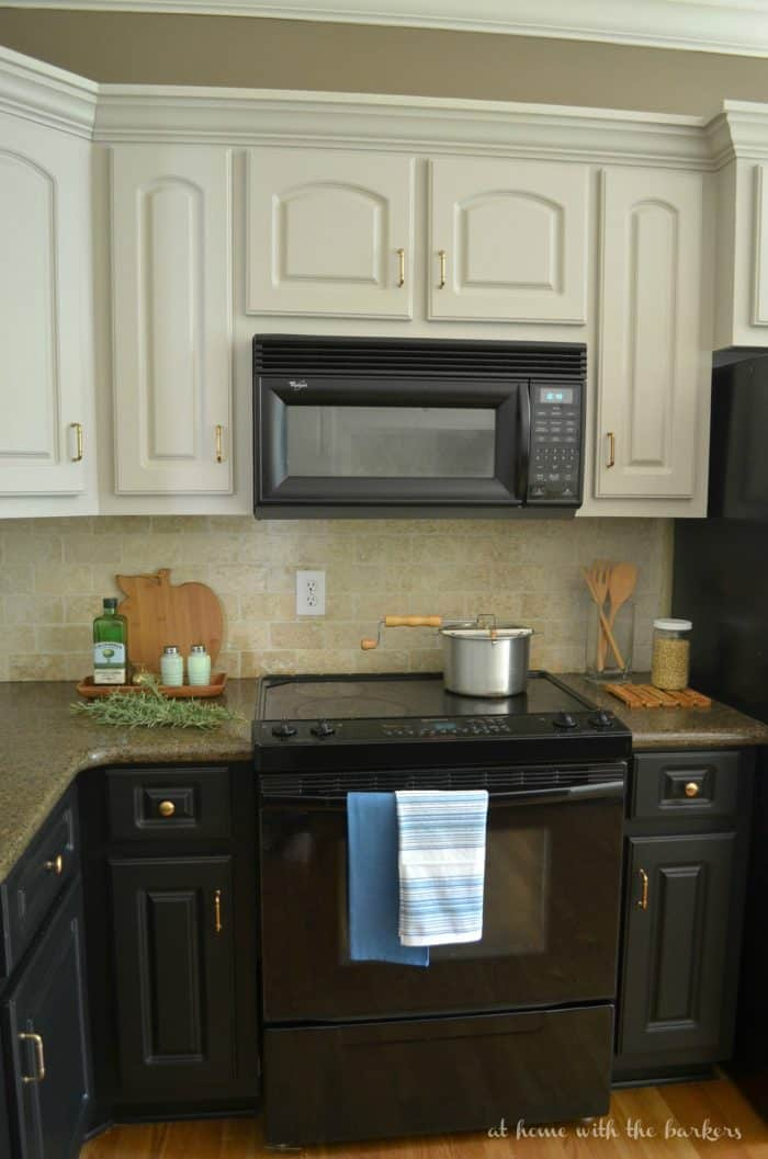 Kitchen Makeover One Room Challenge Painted Cabinet Reveal