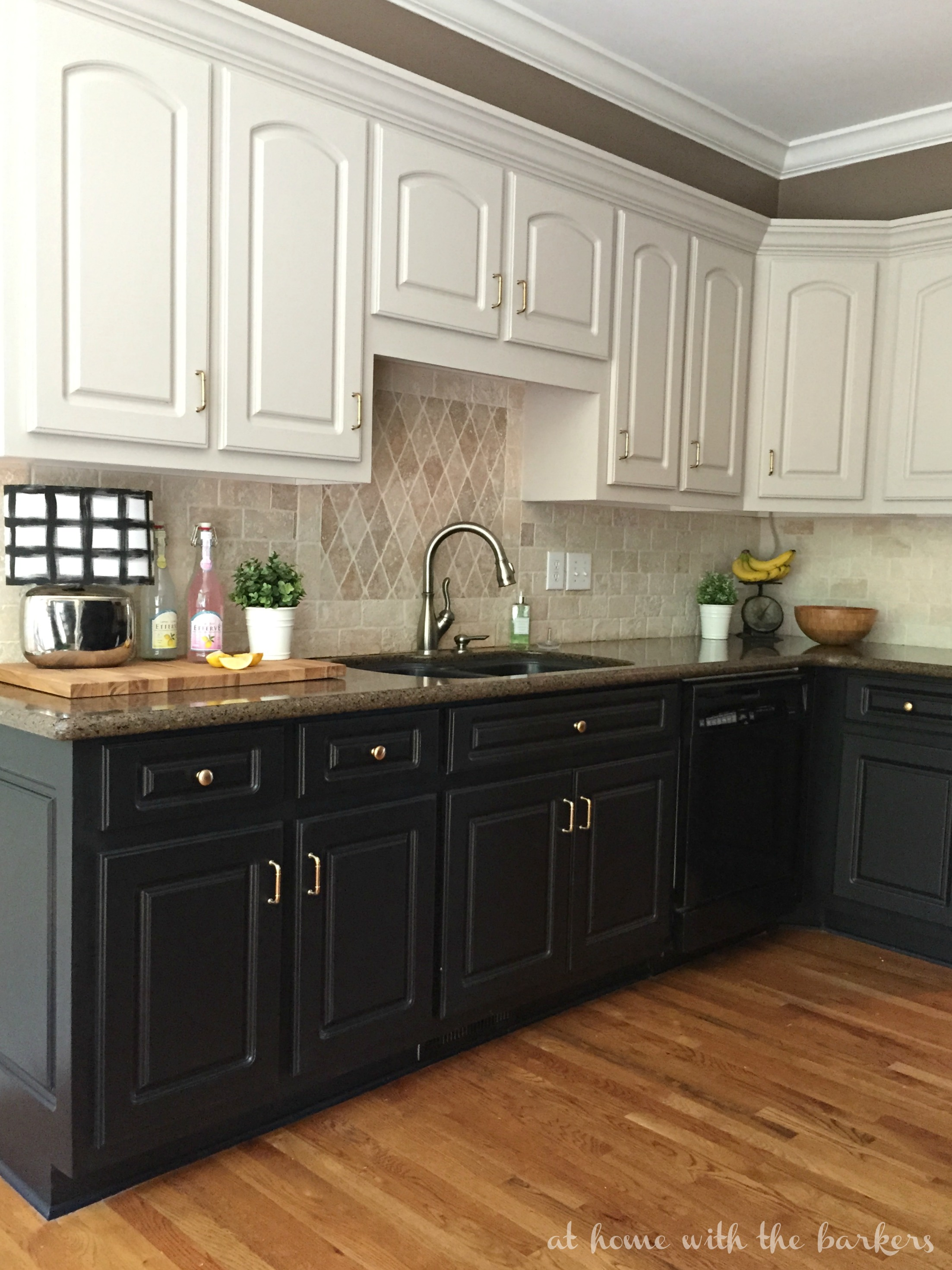 Black Kitchen Cabinets The Ugly Truth At Home With The: pictures of painted cabinets