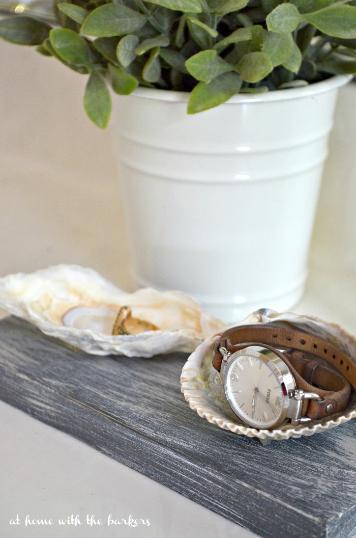 Seashell Jewelry Dish Craft