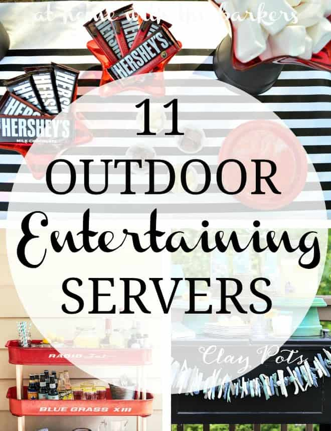 Outdoor Entertaining Servers