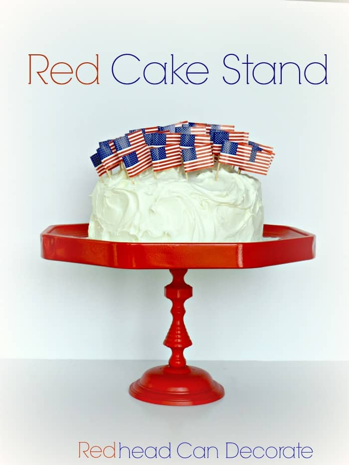 Outdoor Entertaining Servers-Cake Stand